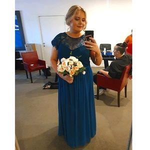 Tania Olsen | Camilla Gown - Teal | Size 14